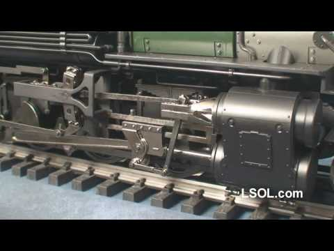 Garden Trains: Bachmann K-27 1:20.3 Locomotive