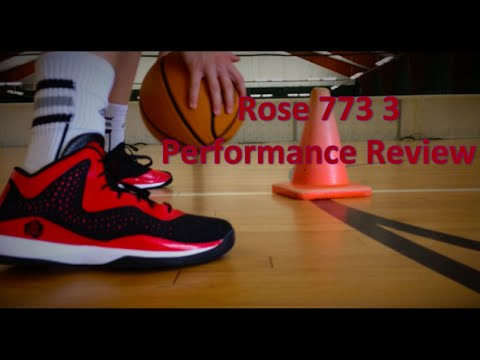 adidas d rose 773 on feet