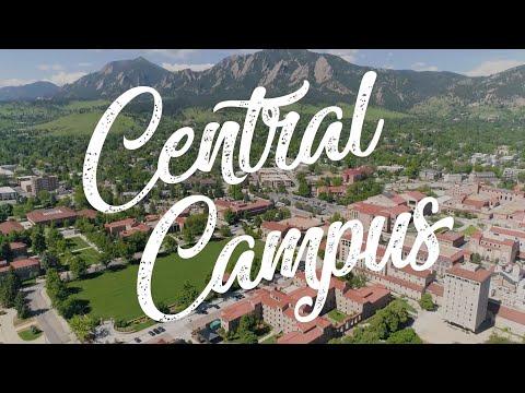 Inside Central Campus   CU Boulder