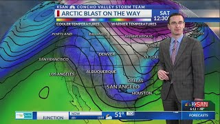 KSAN 6pm Weather - Tuesday January 15, 2019