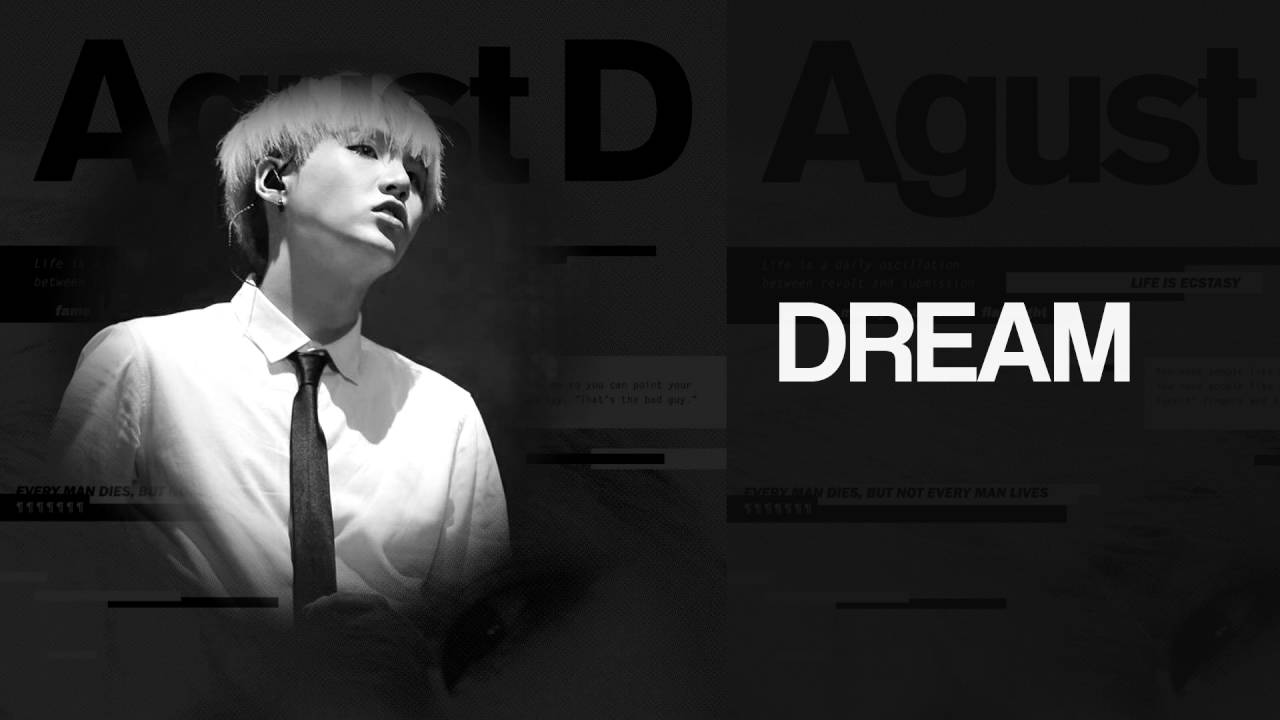 Depressing Wallpaper Quotes Bts Suga Agust D Interlude Dream Reality Lyrics