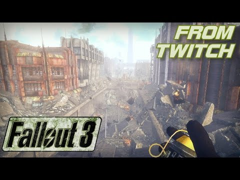 Fallout 3 Gameplay with ENB on Twitch: Exploring Dupont Circle and Sewers in 1080p