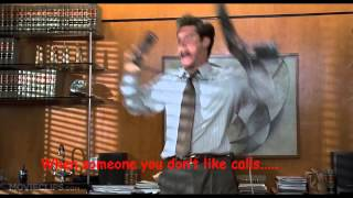 Liar Liar Movie-Jim Carrey-Answering The Phone To Someone You Hate