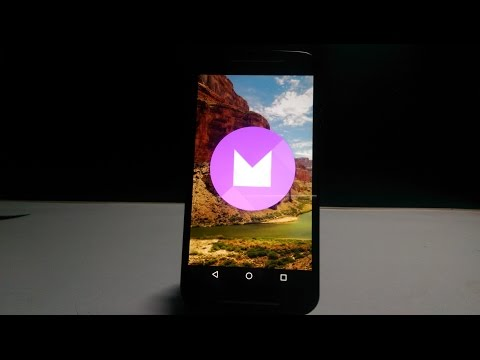 Android Marshmallow on Moto G 2nd gen