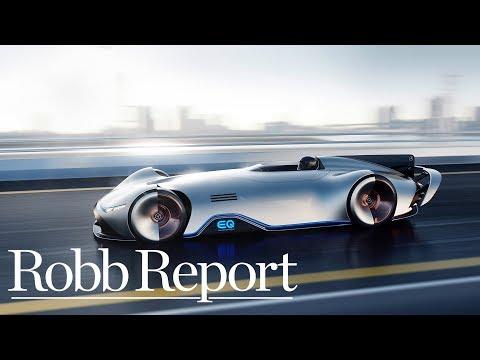 The Electric Mercedes-Benz EQ Silver Arrow Concept Car | Robb Report