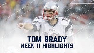 Tom Brady Tosses 4 TDs! (Week 11 Highlights) | Patriots vs. 49ers | NFL