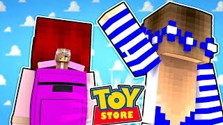 THE LITTLE KELLY DOLL HAS BEEN KIDNAPPED!! w/Little Carly (Minecraft Toystore).