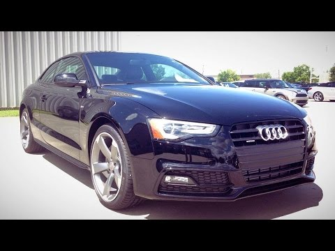 2015 Audi A5 Coupe Sport Full Review, Start Up, Exhaust