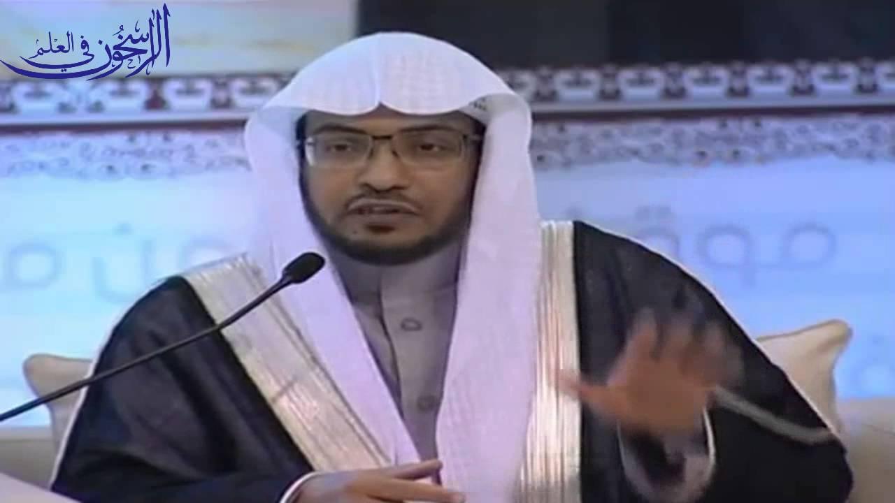 موقف المسلم من الفتن :ــ الشيخ صالح المغامسي