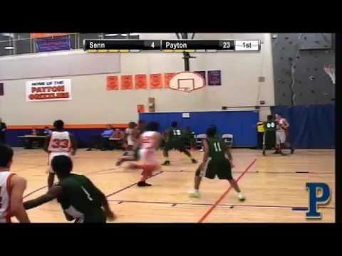 Boys Basketball- Walter Payton vs Senn