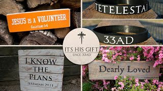Christian Gift Store - Inspirational Christian Gifts for Home Decor or Office