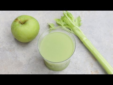 Juicing to lose weight Apple Carrot Celery Juice