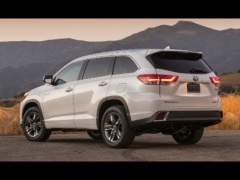 New 2019 Toyota Highlander Redesign Release Date Changes Review Performance And Price