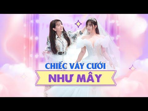 Chiếc Váy Cưới Như Mây - 1 váy biến thành 3 váy trong 5' | Vlog #9 | Phạm Đăng Anh Thư Official