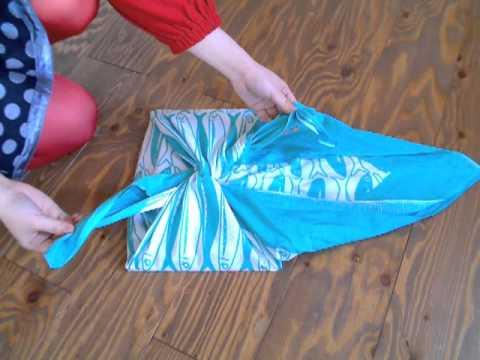 furoshiki comment faire un sac avec un tissu japonais1. Black Bedroom Furniture Sets. Home Design Ideas