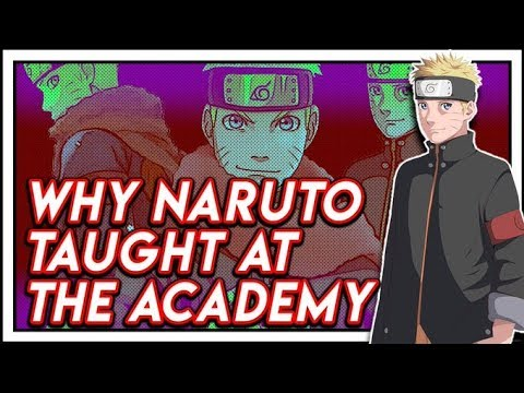 Why Naruto Became An Academy Teacher Before Becoming Seventh Hokage!