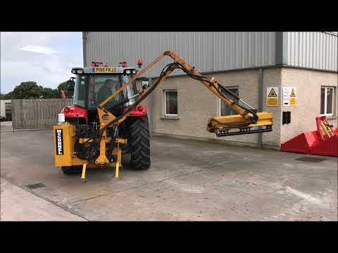 McConnel PA35 Hedgecutter