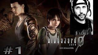 Resident evil Zero|El origen de umbrella | hd remaster|  Capitulo 1