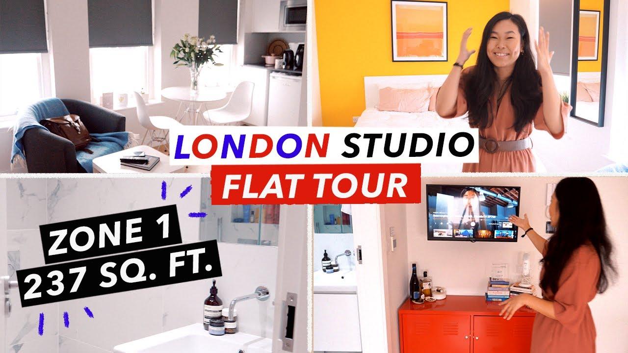 Central London Studio Apartment Tour | 236 sq. ft Flat