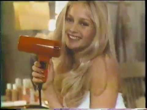 Charlene Tilton 1978 Clairol Son Of A Gun Hair Drier Commercial