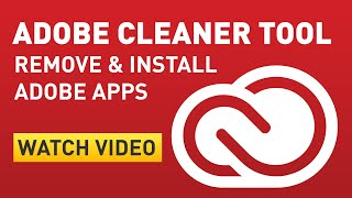 Adobe CC CC 2014 Adobe Creative Cloud Uninstall And Reinstall Using Cleaner Tool