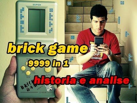historia e analise do brick game 9999 in 1