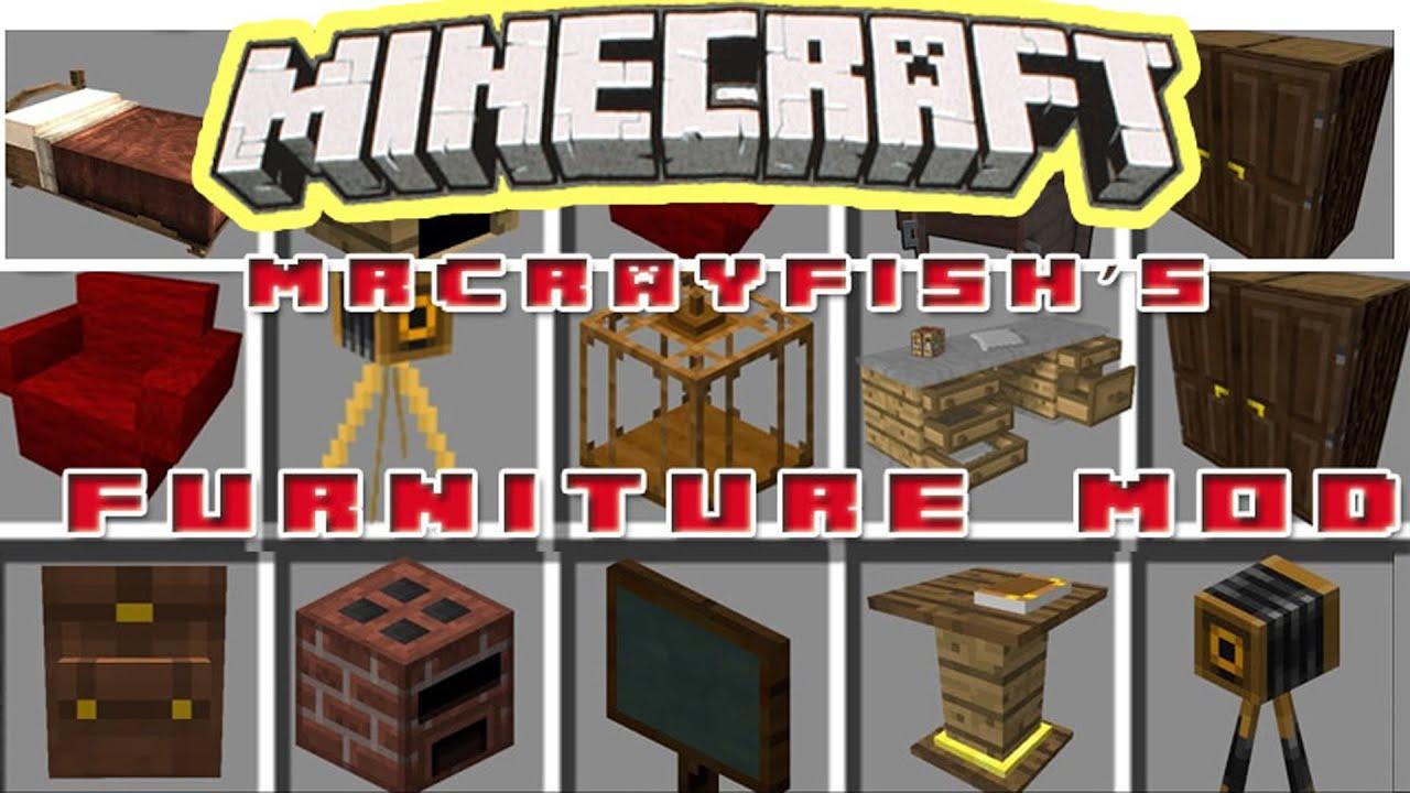 MrCrayfish s Furniture Mod 1 16 5/1 16 1/1 15 2 Special features