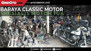 Berkunjung Ke Bengkel Baraya Classic Motor
