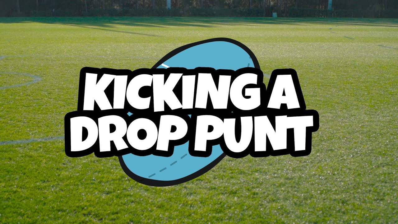Communication on this topic: How to Kick a Good Drop Punt , how-to-kick-a-good-drop-punt/