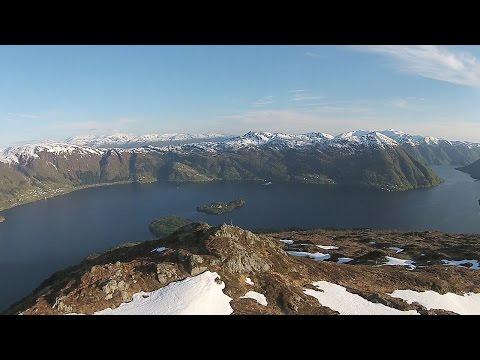 Osterøy - Olsnesnipa (Olsnessåta) - dronefilm