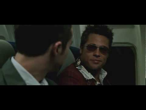 And this is how I met Tyler Durden - Fight Club