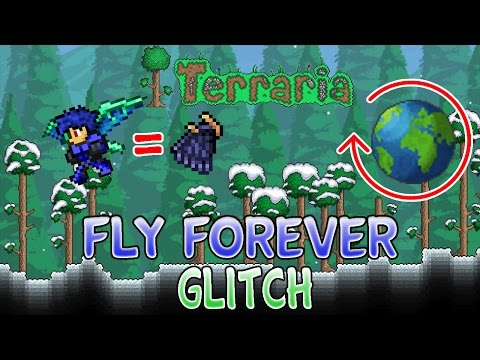 New Fly Forever Glitch For Terraria 1.2.4 ios/android WORKING 2016