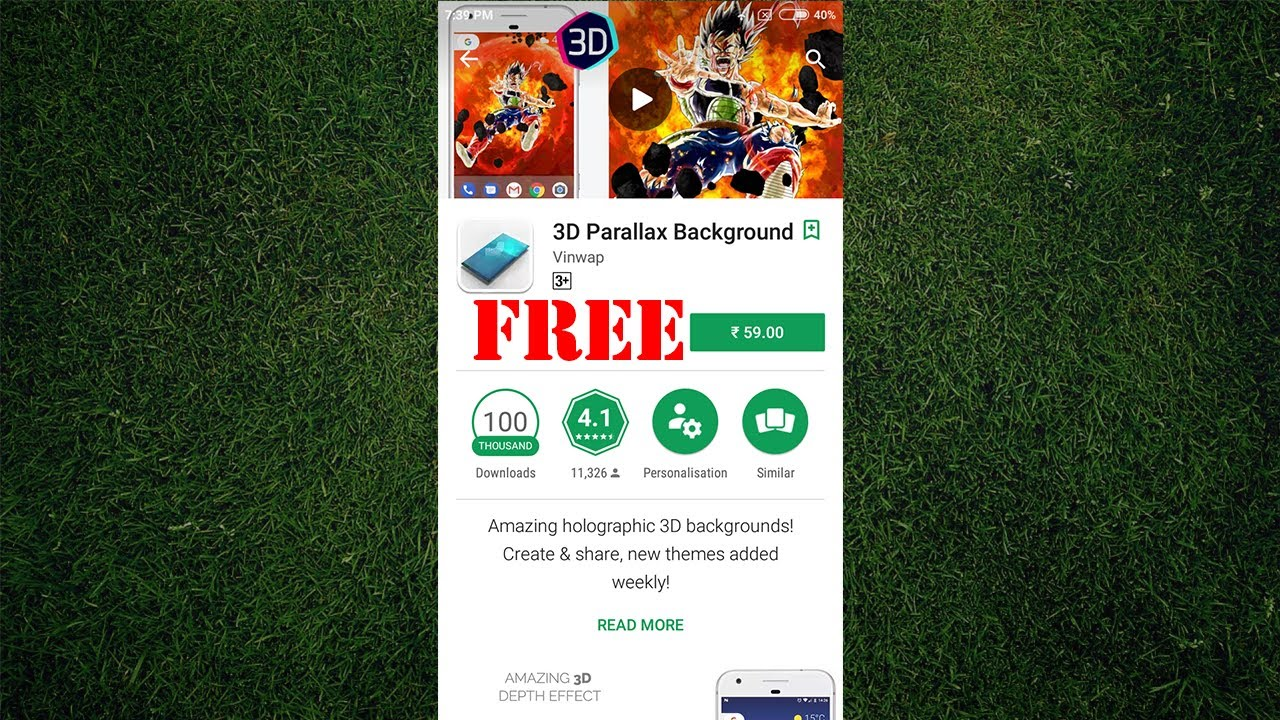 3d parallax background android free
