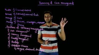 Treasury and Cash Management/ Working Capital Management/ FM/ CA IPCC