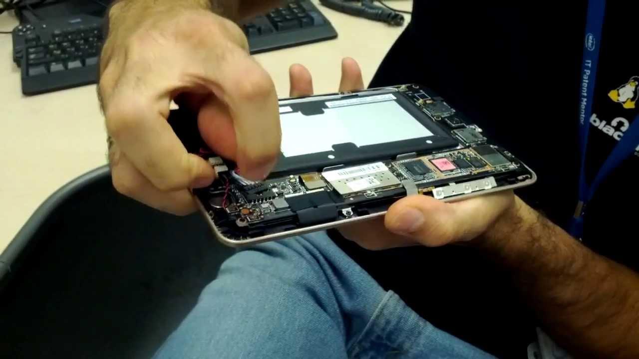 Планшет Asus Nexus 7 ME370TG Ремонт USB - YouTube