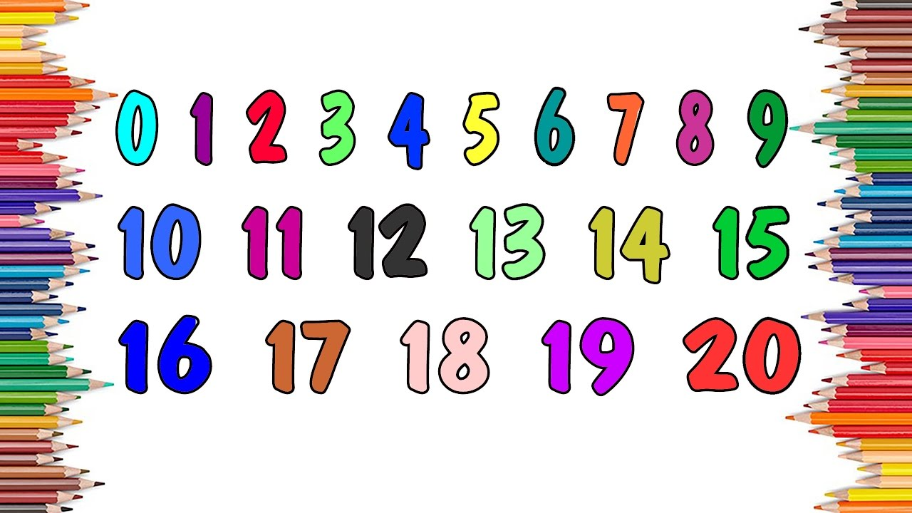 Learn Colors And Numbers 0