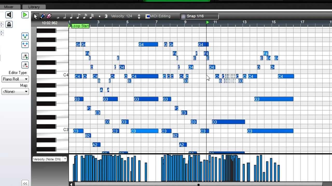 Mixcraft University: MIDI Editing with Virtual Instruments