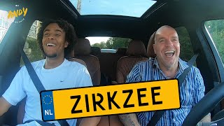 Joshua Zirkzee - Bij Andy in de auto! (English subtitles)