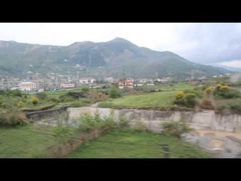 Train ride Elbasan - Rrogozhine (Albania)