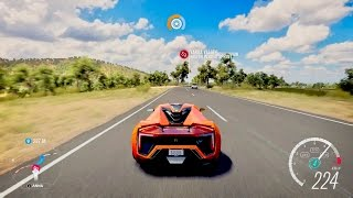 Forza Horizon 3 W Motors Lykan HyperSport