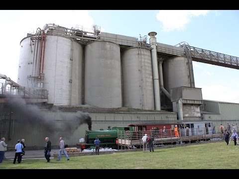 Ketton Quarry & Cement Factory open day 6th June 2015 inc 0 4 0ST Sir Thomas Royden 2088 1940