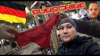 Как мы купили красные трусы во Франкфурте в Германии.