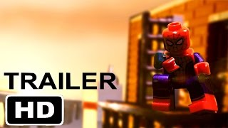 Spider-man: homecoming - official trailer 2 in lego
