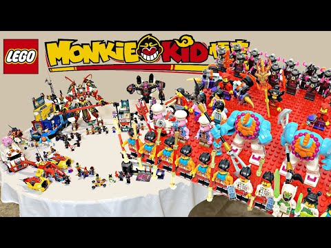 LEGO Monkie Kid! EVERY Set, ALL Minifigures For Wave 1! Is This Theme ANY Good?