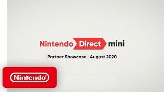 Nintendo Direct Mini: Partner Showcase | August 2020