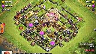Clash Of Clans  TH11 Trophy Pushing Base 2018 defence log//Technica asif//Technical Asif||