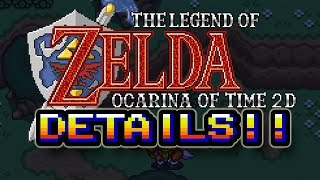 CHECK THIS - Ocarina of Time 2D New Details & Gameplay Trailer