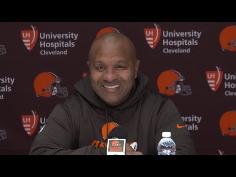 Hue Jackson: It was a good first day with Josh Gordon