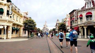 Disneyland Paris Main Street USA virtual Tour 2020