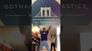 Gotham Gymnastics Quaranteam Coach Keagan Strength:Conditioning